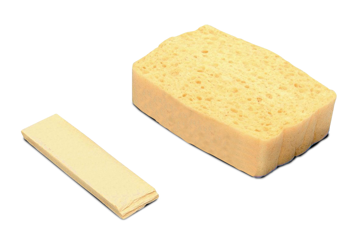 compressed sponges finished industrial products